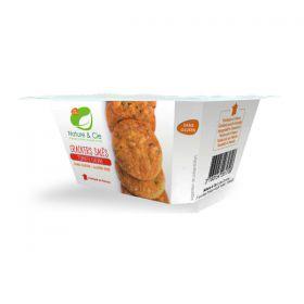 Crackers salés tomate chèvre