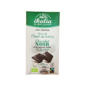 Tablette de chocolat noir au sucre de fleur de coco