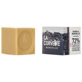 Cube de Savon de Marseille EXTRA PUR - boîte