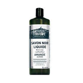 Savon noir liquide - Parfum amande