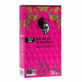 Dal de riz et lentilles : Saveur indienne