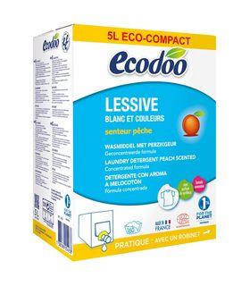 Lessive liquide écologique bag-in-box pêche BIO - 160 lavages